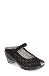 Women's Jambu 'Journey Encore' Mary Jane Sandal Black Leather