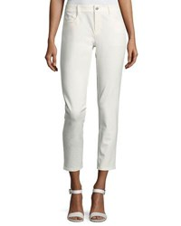 Joseph Jeannot Five Pocket Ankle Pants Off White