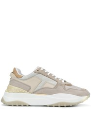 Tod's Lace Up Sneakers Neutrals