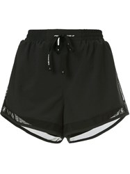 The Upside Mesh Trim Shorts Black
