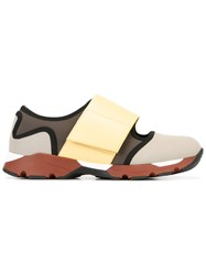 Marni Front Strap Sneakers