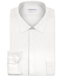 Van Heusen Pincord Solid Dress Shirt White