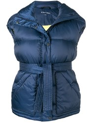 Perfect Moment Oversized Gilet Jacket Blue