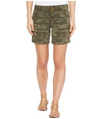 Sanctuary Habitat Shorts Safari Green Camo Women's Shorts Olive