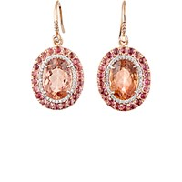Irene Neuwirth Diamond Collection Women's Mixed Gemstone Drop Earrings No Color