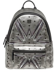Mcm Medium Stark Cyber Flash Backpack
