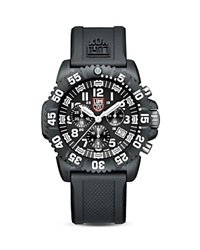 Luminox Navy Seal Colormark Chronograph 3081 Watch 44Mm Black Black