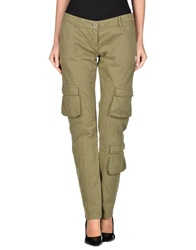 Sakura Casual Pants Military Green