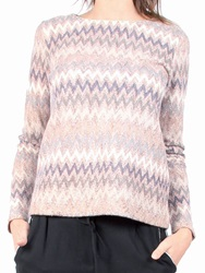 Red Soul Jacquard Printed Jumper Multi Coloured