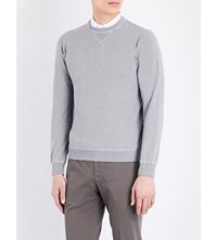 Slowear Washed Cotton Jumper Grey