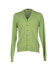 Patrizia Pepe Knitwear Cardigans Men Light Green