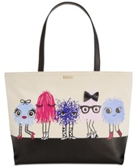 Kate Spade New York Monster Party Francis Tote Multi