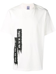 D.Gnak Loose Fitted T Shirt White