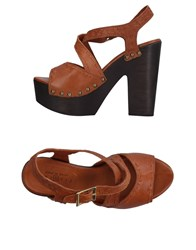 Fiorina Sandals Tan