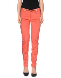 Jeckerson Trousers Casual Trousers Women Coral