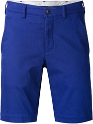 Attachment Fitted Shorts Blue