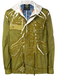Mr And Mrs Italy Short Raincoat Green