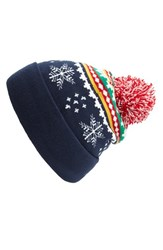 Junior Women's Capelli Of New York 'Holiday Stripe' Beanie