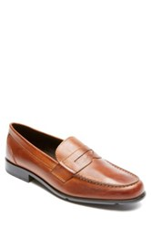 Rockport Leather Penny Loafer Wide Width Available Metallic