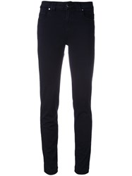 D.Exterior Skinny Trousers Blue