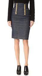 Dsquared Denim Pencil Skirt Blue