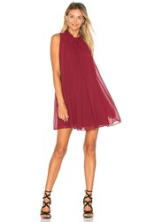 Bcbgeneration Mini Tank Dress Burgundy