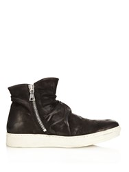 John Varvatos Distressed Leather Boots