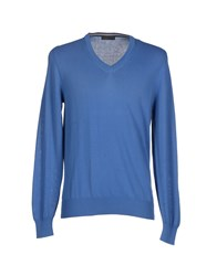 Magliaro Knitwear Jumpers Men Pastel Blue