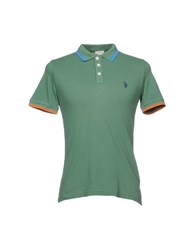 U.S. Polo Assn. U.S.Polo Topwear Shirts Military Green