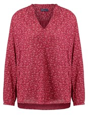 Gap Popover Tunic Red