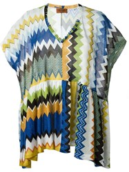 Missoni Zig Zag Knit Blouse Multicolour