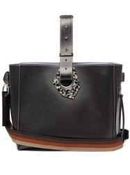 Ganni Smooth Leather Tote Bag Black
