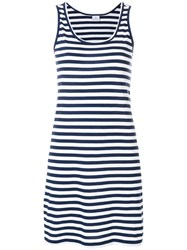 Paul Smith Ps By Long Striped Tank Top Blue