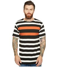 Publish Vance Striped Knit Orange Men's Clothing