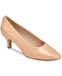 Aerosoles Stardom Pumps Women's Shoes Nude Patent