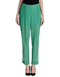 Gaetano Navarra Trousers Casual Trousers Women Green