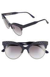 Women's Bottega Veneta 52Mm Cat Eye Sunglasses