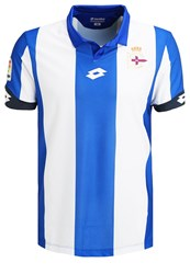 Lotto Deportivo La Coruna Home Club Wear Royal White Blue