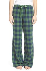 Bp. Undercover Junior Women's Bp. Plaid Lounge Pants Green Juniper Holly Check