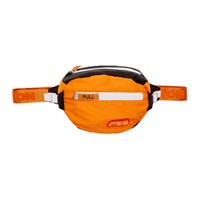 Heron Preston Orange And Black Padded 'Style' Fanny Pack