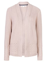 Tulchan Basket Stitch Cardigan Cream