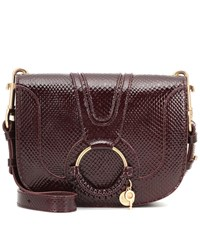 See By Chloe Hana Small Leather Shoulder Bag Red