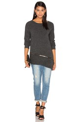 One Grey Day Carrey Sweater Charcoal