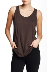 Nation Ltd. Margot Hi Lo Tank Black