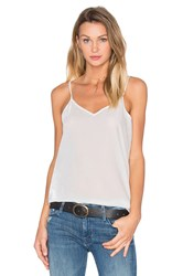 Atm Anthony Thomas Melillo Feather Weight Velvet Cami White