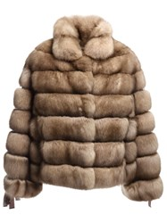 Liska Sable Fur Coat