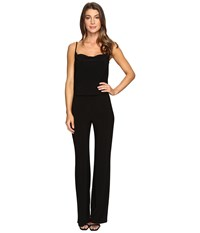 Laundry By Shelli Segal Spaghetti Strap Jumpsuit Black Women's Jumpsuit And Rompers One Piece