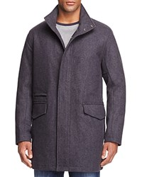 Marc New York Stanford Wool Blend Puffer Coat Charcoal