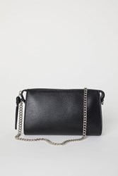 Handm H M Clutch Bag With Metal Chain Black