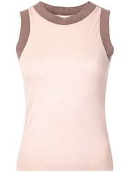 Acne Studios Easy Fit Tank Top Pink